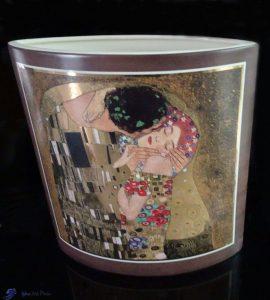 Vase - Le baiser de Klimt - Goebel