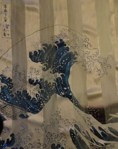 Soie - Hokusai - La vague