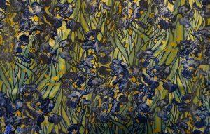 Soie - Van Gogh - Iris