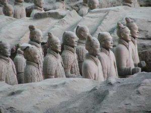 Armée de terre cuite de Kin Shi Huang - Source world-archaeology.com