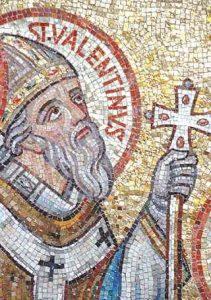 Mosaique de Saint Valentin - Source histoire.fr.com