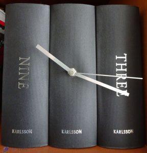 Horloge bibliothèque