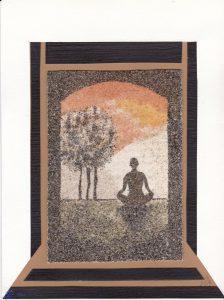 Tableau de sable - Zen