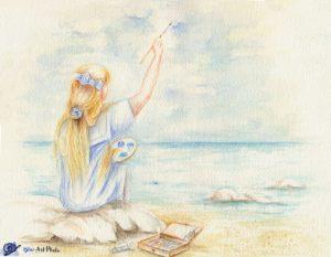 """Peindre le ciel - Livre """"Un Art de Vie"""""""