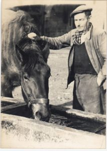 Gustave et son cheval