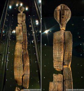 Idole de Shigir - Source Ouest-france.fr/leditiondusoir_ archéologie