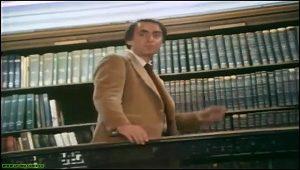 "Carl Sagan - Bibliothèque New york - ""La persistance de la mémoire"""