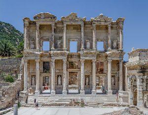 Bibliothèque de Celsus - Source Wikipédia