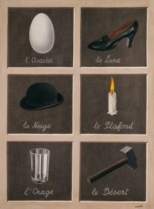 Magritte - la clé des songes - Source Pinterest