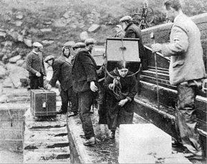 Départ de St Kilda - 1930