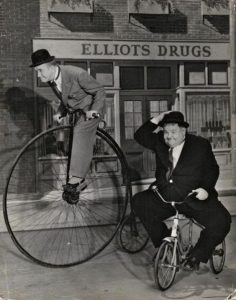 Laurel et Hardy - Source Pinterest