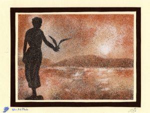 Tableau de sable - Croatie