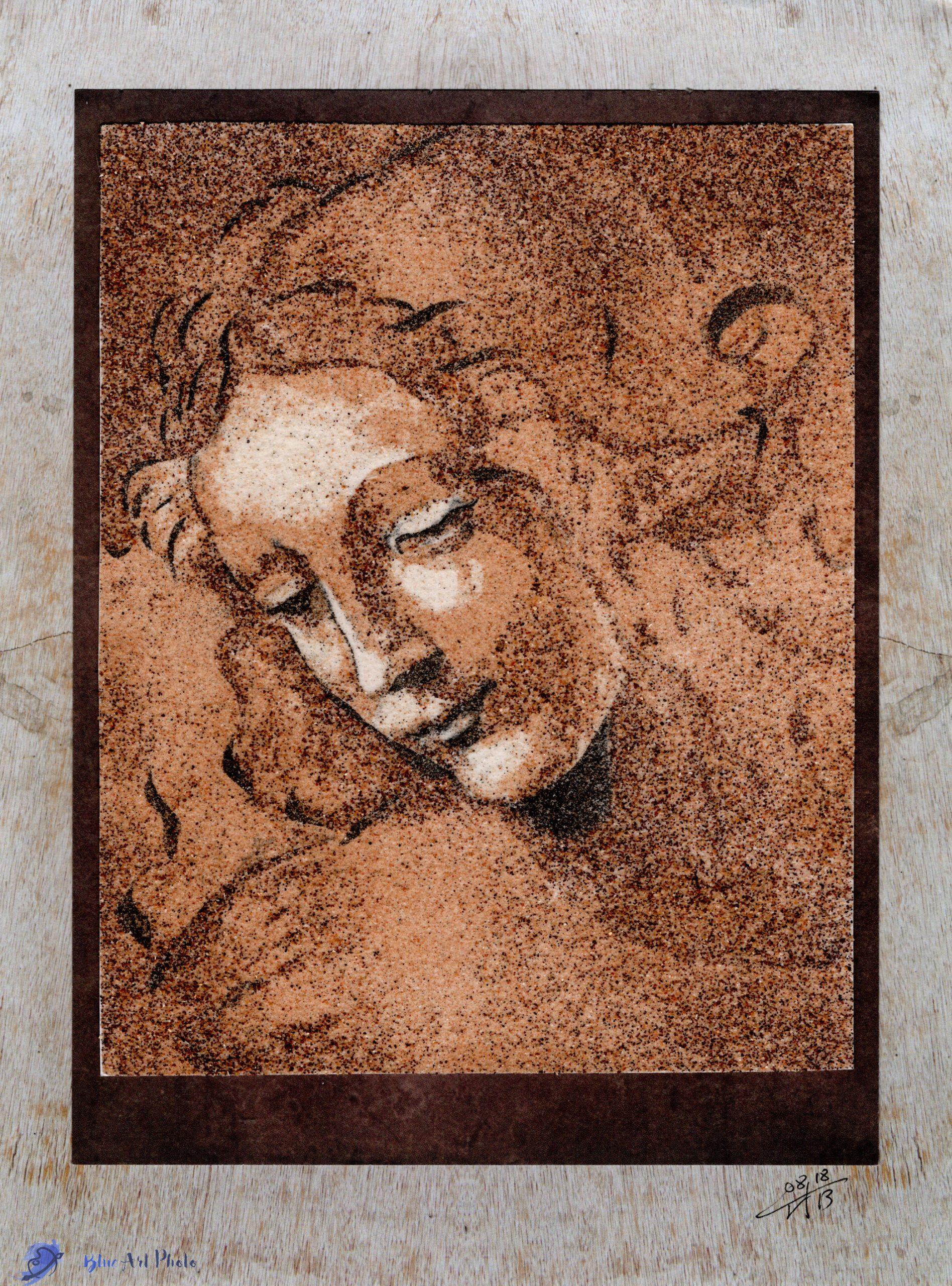 Mes tableaux de sable sont en vente sur Etsy