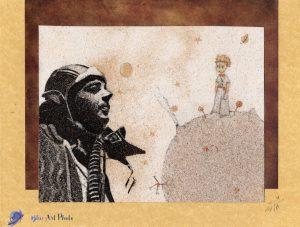 Tableau de sable - Antoine de Saint Exupéry