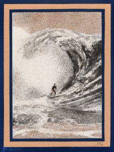 Tableau de sable - Surf